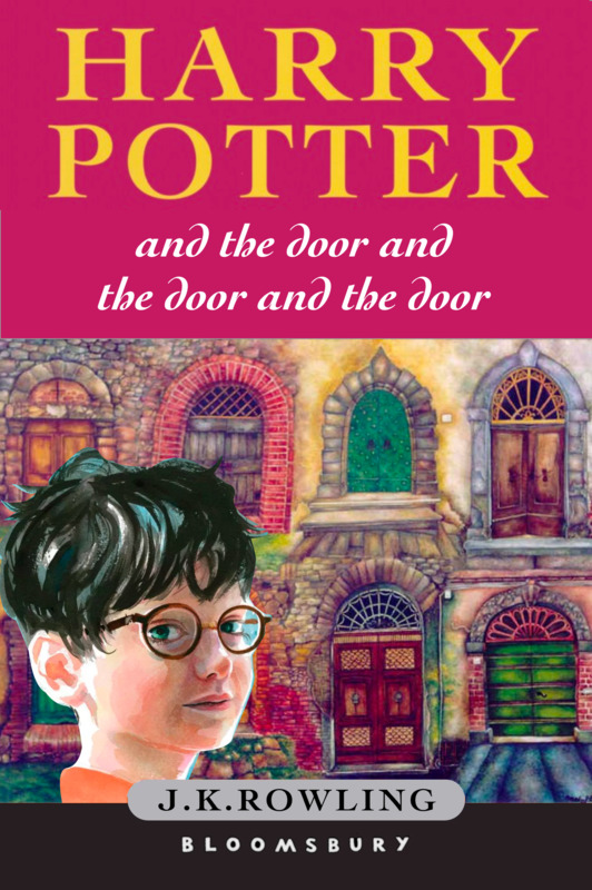Cover for Harry Potter and the door and the door and the door and the door