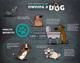 Benefits of Dog Ownership Infographic