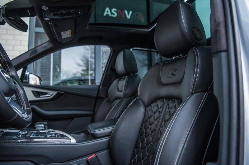 Audi SQ7 4.0 TDI Quattro Pro Line + , 435 PK, Valcona/Leder, Pano/Dak, 2017, Bose, 22'', Elekt. Trekhaak, 79DKM!! afbeelding 11