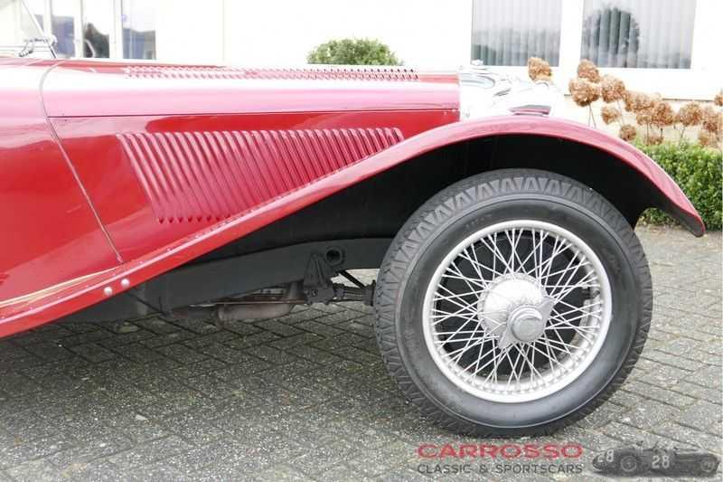 Jaguar SS100 3.5 Roadster / Heritage Trust Certificate / RHD afbeelding 16