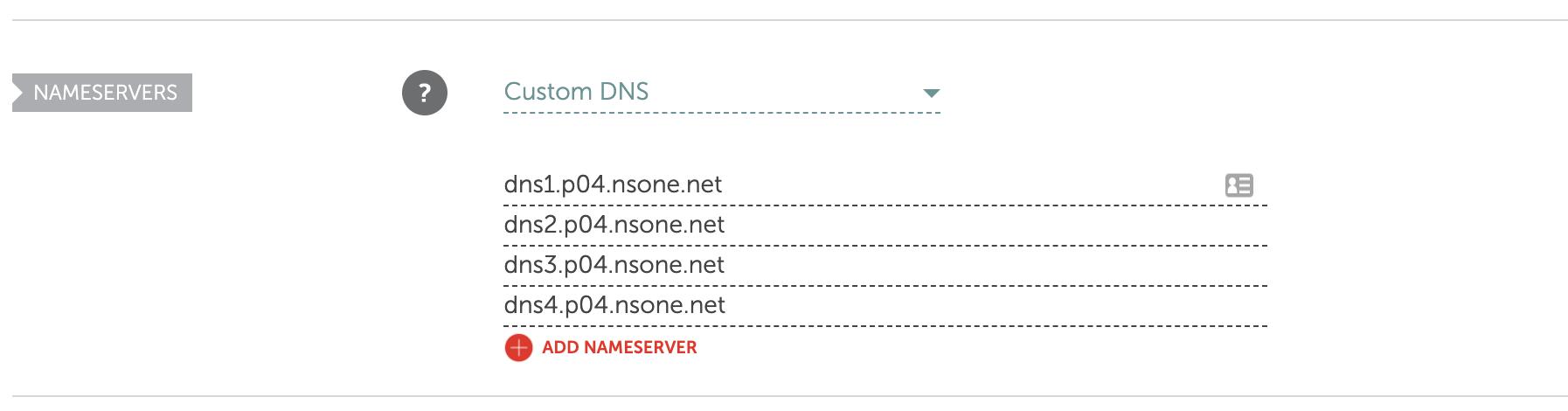Namecheap DNS Setup