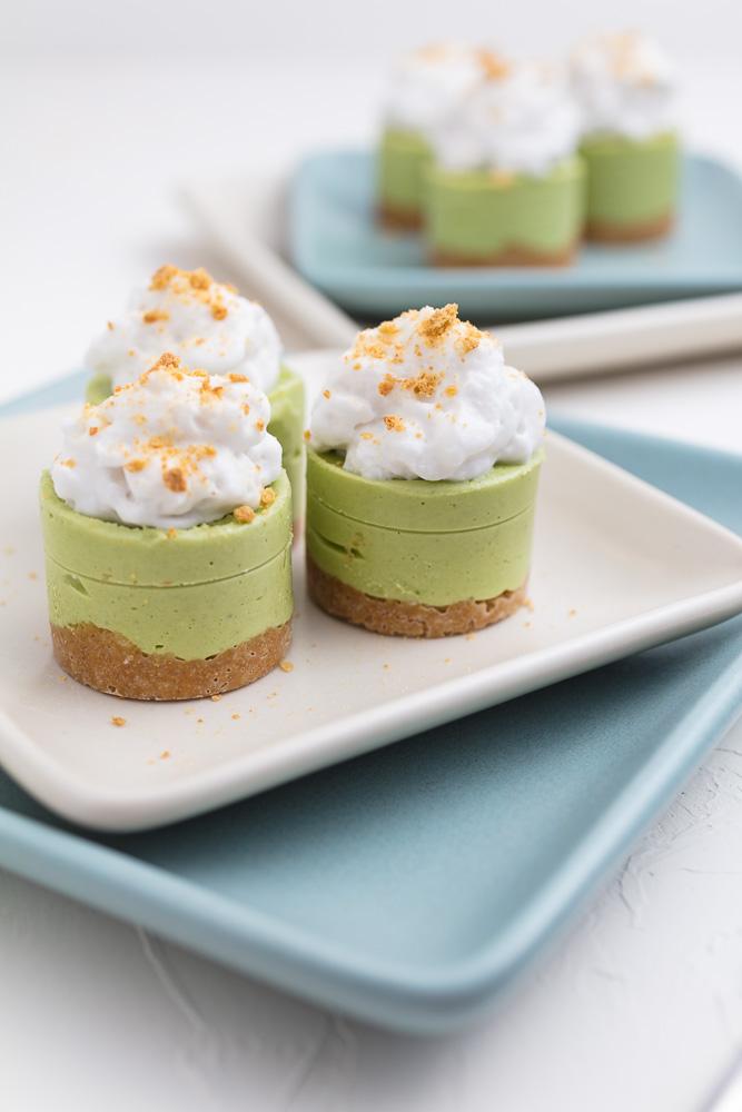 Mini Vegan Coconut Key Lime Pies