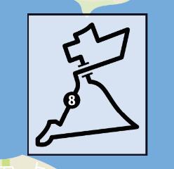 transit map route 8 diagram