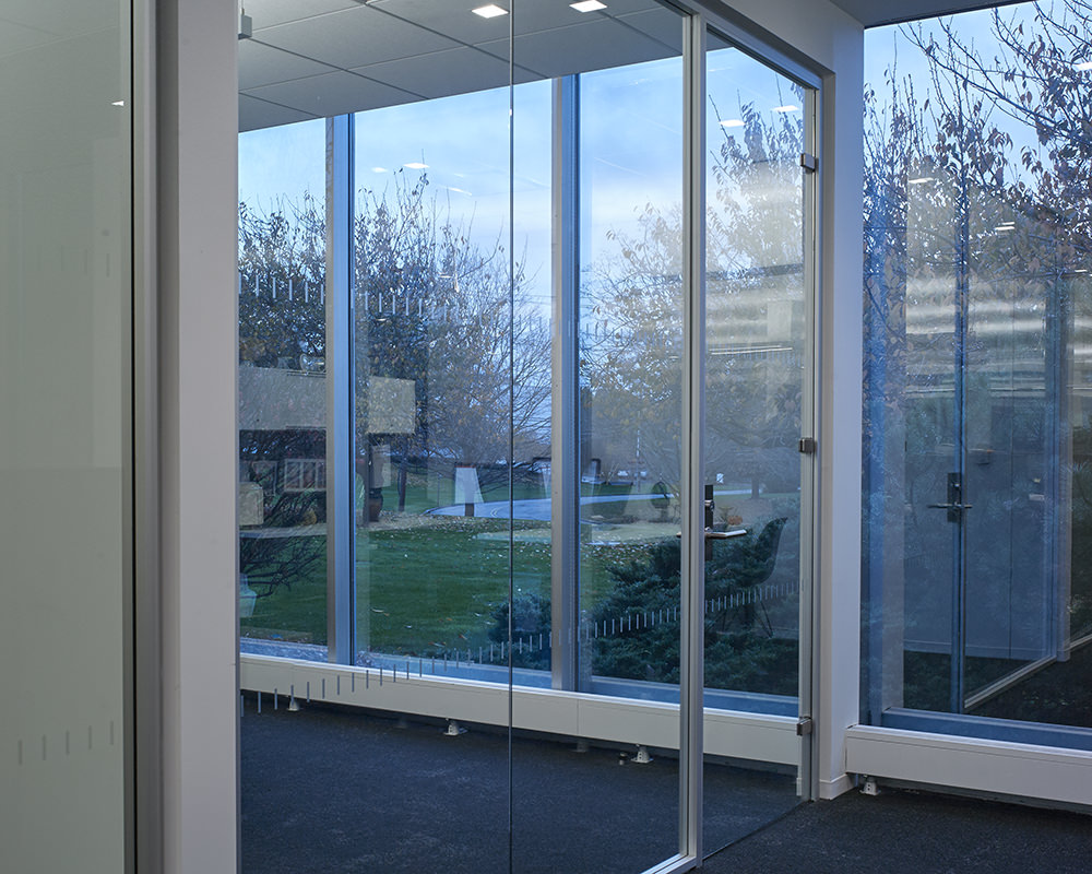 Glass Office Siding and Exterior Walls
