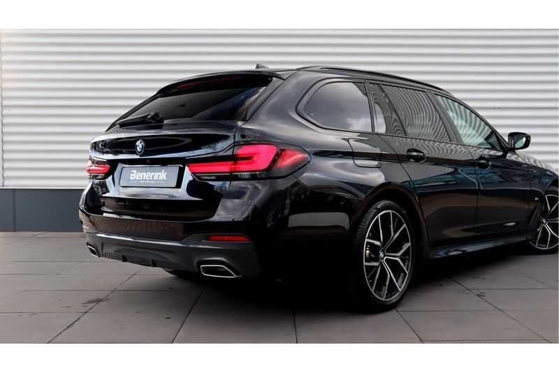 BMW 5 Serie Touring 530i High Executive M Sport Driving Assistant Prof, Head-Up Display, DAB, Memory afbeelding 23