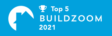 MDH Construction has been awarded Top 5 General Contractor in Plymouth by Buildzoom
