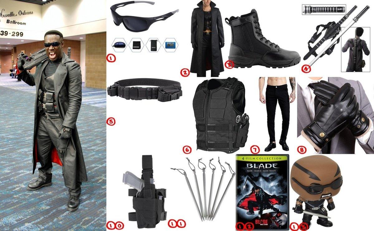 How To Dress Like Vampire Killer Blade Costume For Halloween 2018