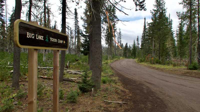 Road to Big Lake Youth Camp
