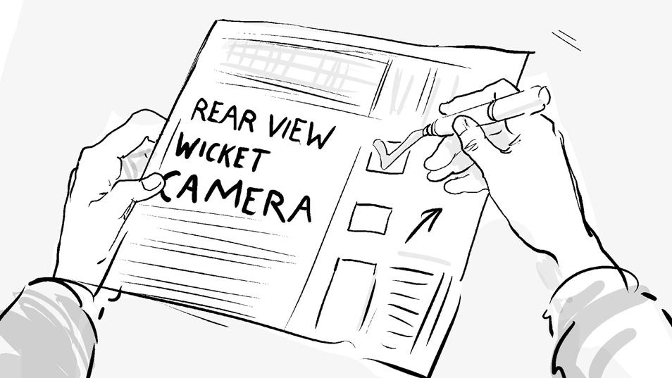 Toyota ECB Sponsorship Rear View Wicket Camera storyboard 09B