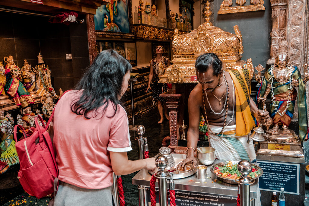 Sri Krishana Temple, Singapore