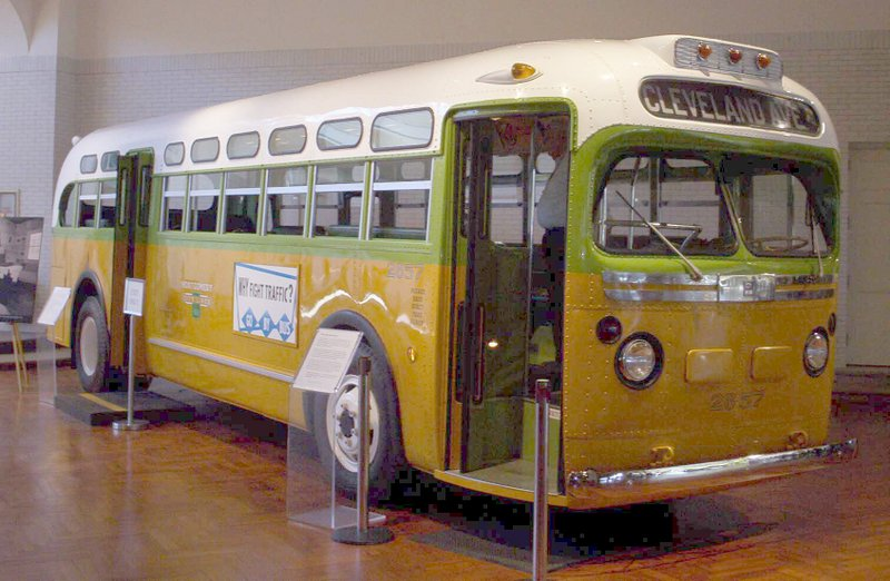 Montgomery Bus Boycott Museum Display