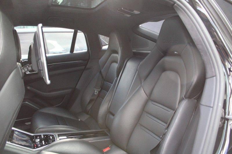 Porsche Panamera 4.0 Turbo Bose, Sportdesign, Pano, Rear seat entertainment afbeelding 18
