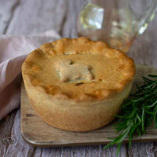 Lamb, Redcurrant and Rosemary Pie