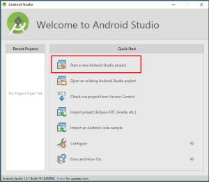Как создать Android приложение