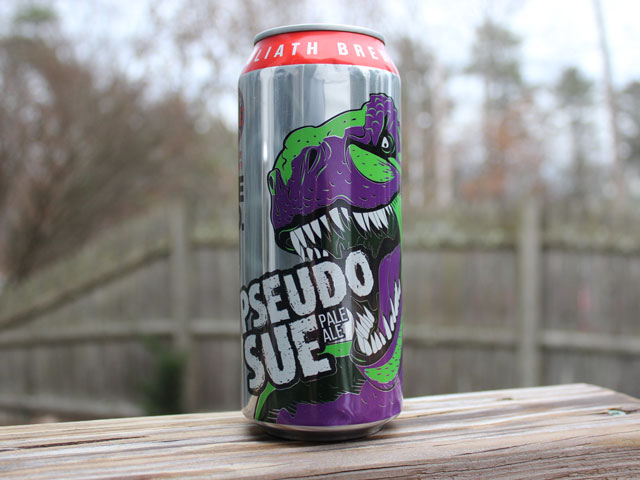Pseudo Sue, a Pale Ale brewed by Toppling Goliath Brewing Company