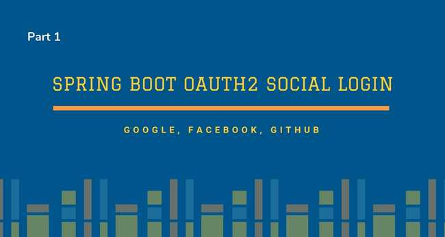 Spring Boot OAuth2 Social Login with Google, Facebook, and Github - Part 1
