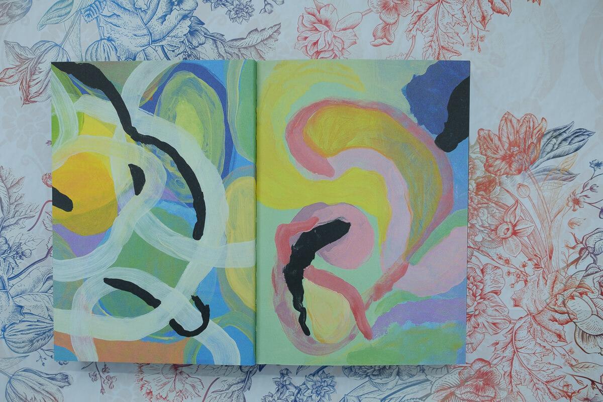 Illustration aus Melek + Ich von Lina Ehrentraut.