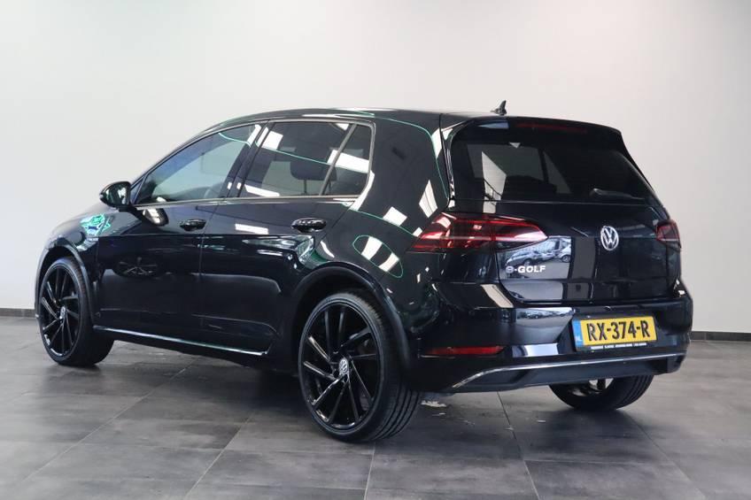 Volkswagen e-Golf e-Golf Marge! LED Navigatie Clima Cruise Warmtepomp Virtual CP Camera *tot 24 maanden garantie (*vraag naar de voorwaarden) afbeelding 3