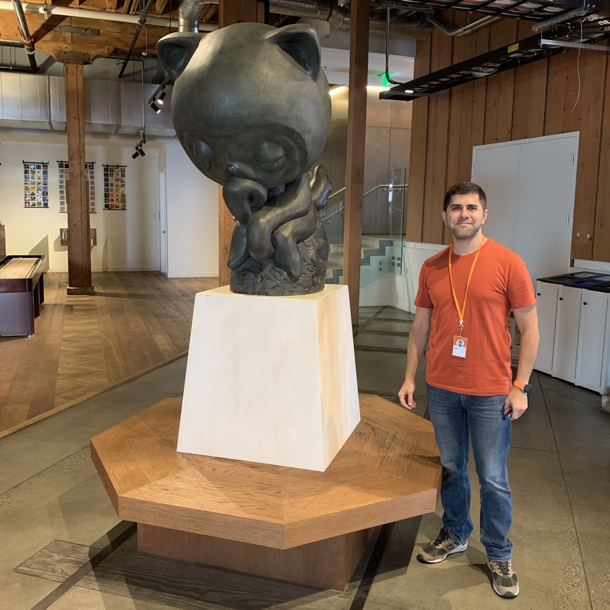 My first day at GitHub (HQ, San Francisco)