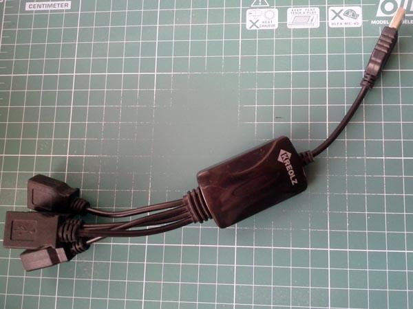 Донор корпуса — сгоревший USB-хаб