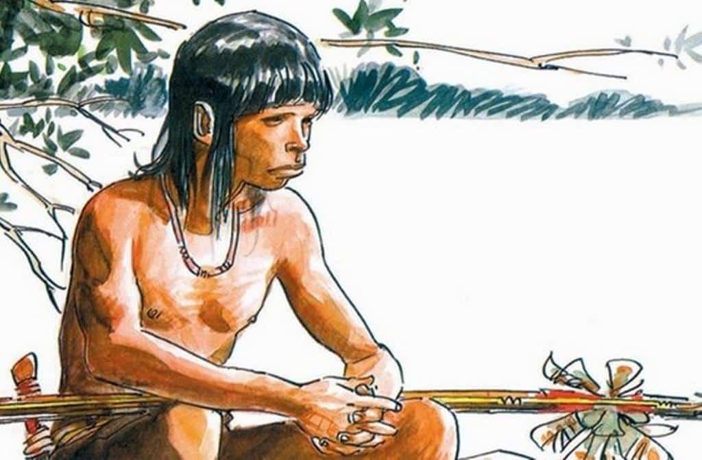 Tiki O Menino Guerreiro de Berardi e Milazzo - O Ultimato
