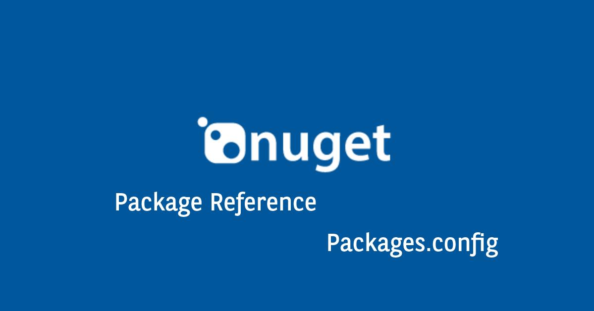 .NET - Nuget referência por pacote ou packages.config