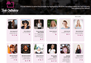 Desktop screenshot of Tech Outsiders