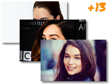 Emilia Clarke theme pack