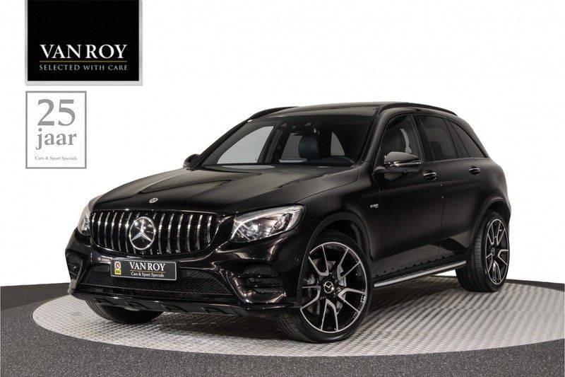 "Mercedes-Benz GLC GLC43 AMG 367pk 4Matic Panoramadak Luchtvering Nightpakket Distronic Keyless Burmester Sportleder+Memory Carbon AmbientLight ComandOnline 21"" Parktronic 360Camera Pdc afbeelding 1"