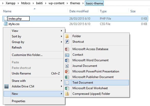 Template Folder