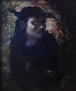 "Sigitas Staniunas, Lithuania. ""Untitled"", Canvas, oil, 20x27cm"