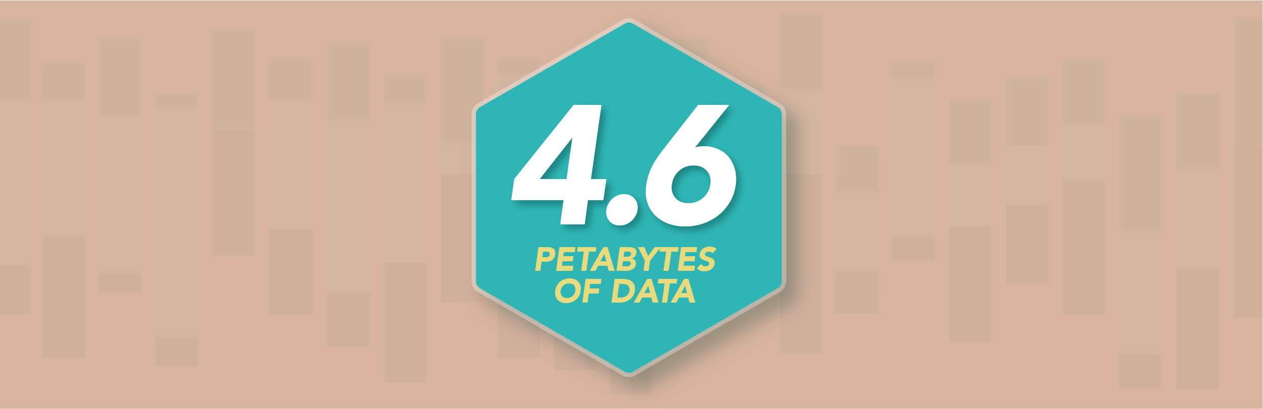 4.6 petabytes of data