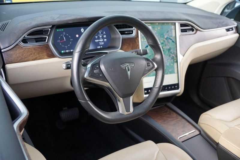 Tesla Model X 90D Base 6p. 6-Persoons / Panoramadak / Camera / Luchtvering / 112dkm NAP / NL-Auto afbeelding 16