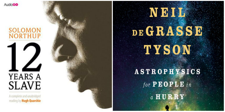 Twelve Years a Slave, Astrophysics for People in a Hurry