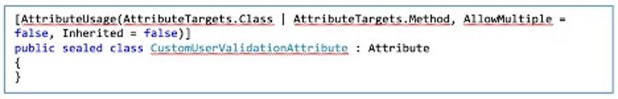 Create attribute class