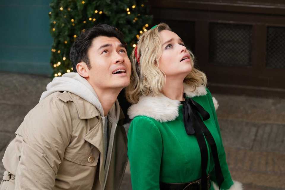Emilia Clarke and Henry Golding in Last Christmas