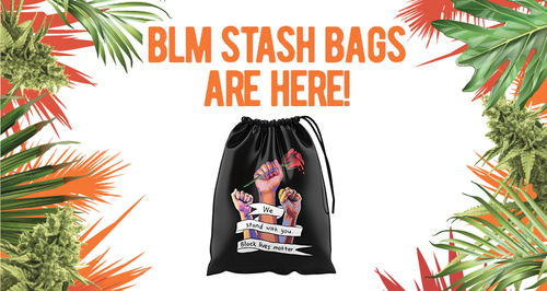 Our BLM Stash Bags Have Arrived!