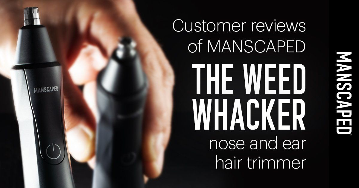 Customer Reviews of MANSCAPED The Weed Whacker Nose Hair Trimmer