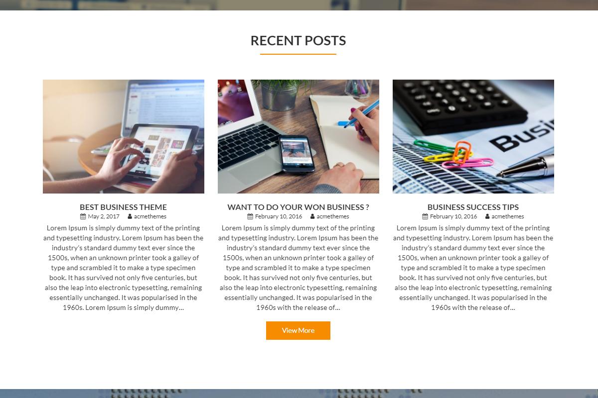 Screenshot for Theme Corporate Plus