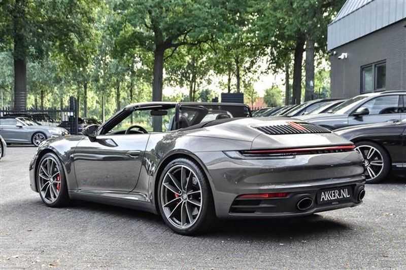 Porsche 911 S CABRIO SPORT CHRONO+SP.UITLAAT+ACC NP.203K afbeelding 23