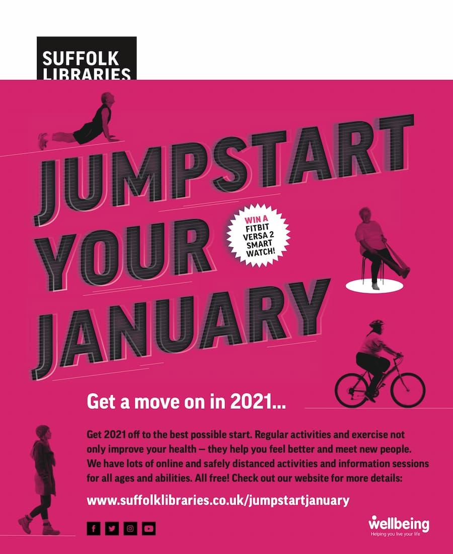 Jumpstart January advert.