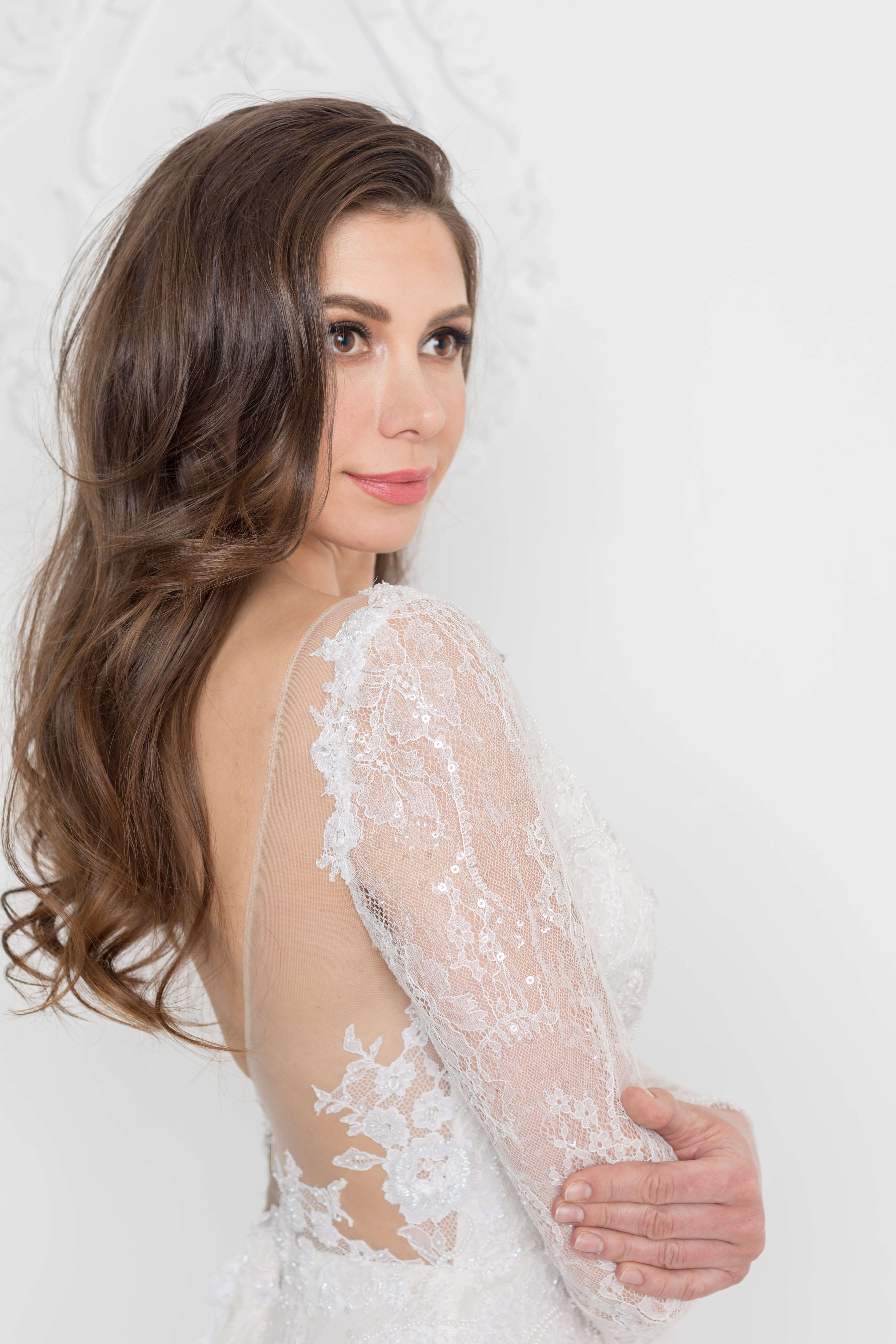 naked back wedding dress montreal bridal store lilia haute couture