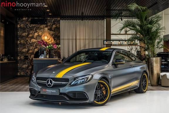 Mercedes-Benz C-Klasse Coupé 63 S AMG Edition 1 Yellow | Keramiek | HUD | Memory | Carbon
