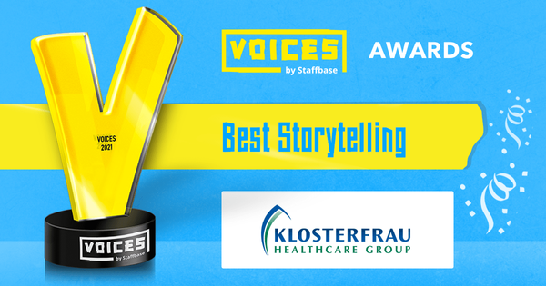 Best Storytelling Concept: Klosterfrau Healthcare Group
