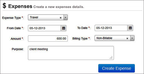 Apply Expense