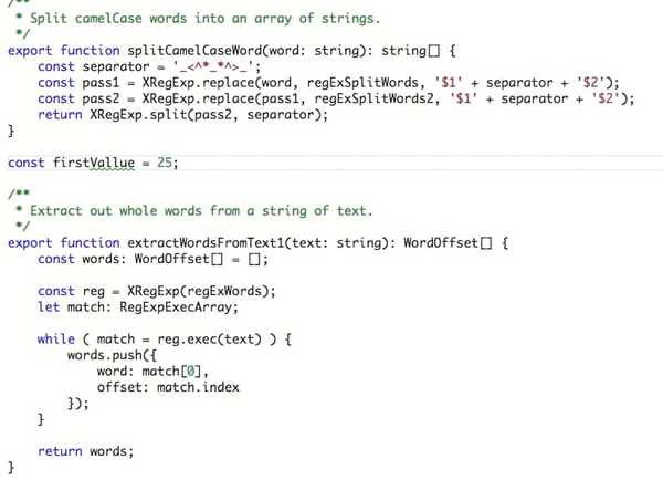 code spell check extension