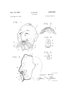 Bayshore Industries Face Mask Patent #2666206.pdf preview