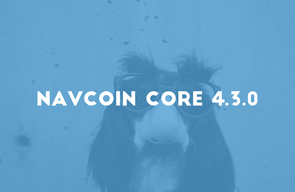 NavCoin Core 4.3.0