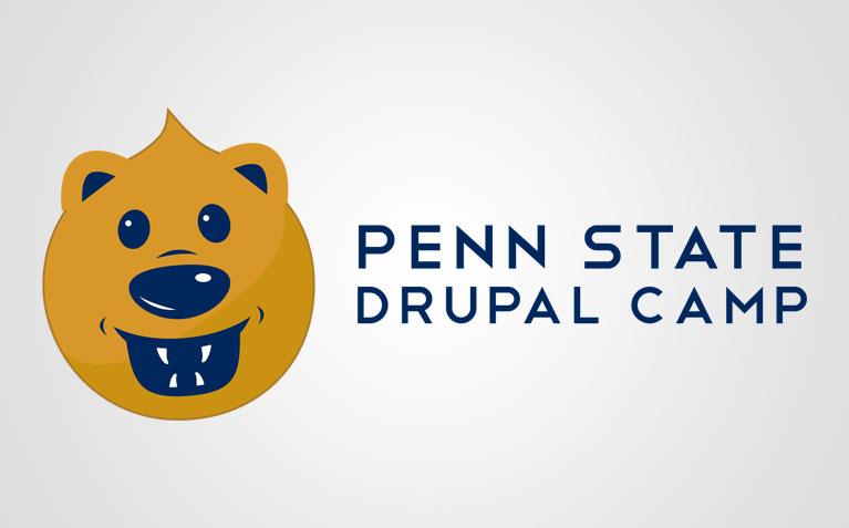 Penn State Drupal Camp Logo