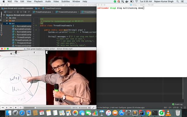 Java Concurrency / Multithreading Basics